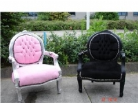 Barok stoel kind. interesting amazing kinder barok stoel paars with